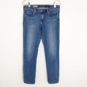 AG Stevie slim straight ankle jeans